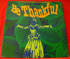 Be Thankful LP Attack Reggae/Dub/Roots VINYL Lee Perry/King Tubby/Kingstonians++