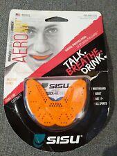 SISU Aero Next Gen All Sport Adult 11 Tangerine Orange 1.6mm Thin Custom Fit