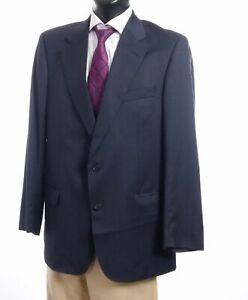 Burberrys Sakko Jacket Bennet Gr.102 blau meliert Einreiher 2-Knopf -S278