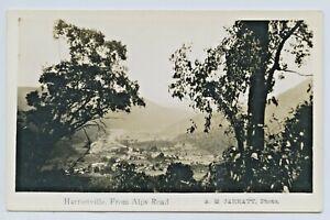1920-039-S-RP-KODAK-JARRATT-POSTCARD-HARRIETVILLE-FROM-THE-ALPINE-ROAD-VICTORIA-H78