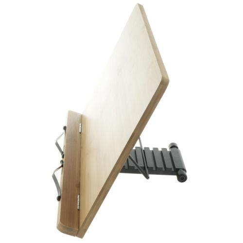 Verstellbarer Bookrack Buchständer Kochbuchhalter Notenständer 39x28cm