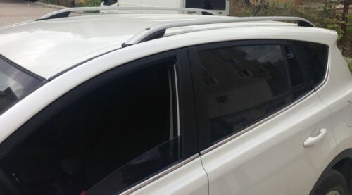 Aluminium Dachreling und Querträger Toyota Rav4 2013