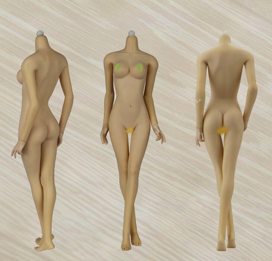 Jiaou puppe 1   6 braune haut joq-06c-bm medium büste weiblichen figur körper puppen geschenke