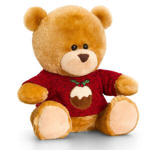 Le Meilleur Noël Pipp Bear Soft Toy Teddy Stocking Filler Cadeau-noël Pull-afficher Le Titre D'origine Soyez Amical Lors De L'Utilisation