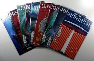 TITAN-Comics-INDEPENDENCE-DAY-1-2-3-4-5-Complete-VARIANTS-LOT-VF-NM-Ships-FREE