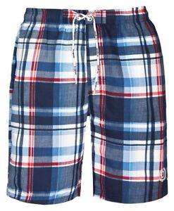 5e7b139727 Bugatti Karrierte Men's Swimming Shorts Blue SIZE L 4250425673150 | eBay
