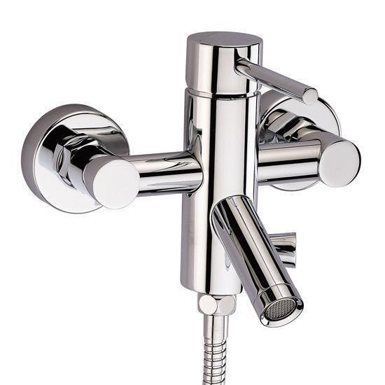 Dusch Badewannenarmatur Einhebelmischer Armatur Einhandmiscsher Chrom Bad Wannen