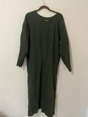Vintage FLAX by Jeanne Engelhart Dress Linen Mediu