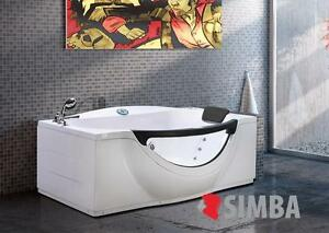 Vasca Da Bagno Ad Angolo.Whirlpool Bath Tub Spa Corner Bath Double Pillow 180 X 96 Cm Bathtub
