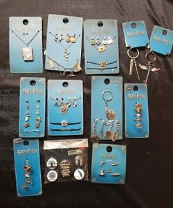 Harry-Potter-Jewellery-Rings-Earrings-Necklaces-Bracelet-Sets-Keyrings-PRIMARK
