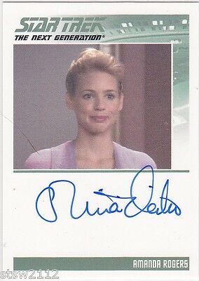 2014 Star Trek ALIENS Autograph Olivia d/'Abo as Amanda Rogers VERY LIMITED