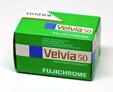 Pellicola 35mm Rullino Diapositive Dia Fuji/Fujifilm Velvia 50 135-36