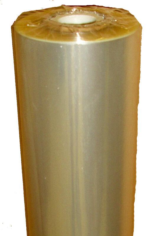 (  m) 2 Secare-Rolle Blaumenfolie Kristallfolie klar 75 cm x ca. 1000 m 20my