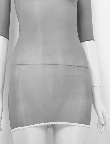 Women/'s Sheer Bodycon Short Mini Dress Evening Party Cocktail Clubwear Lingeries