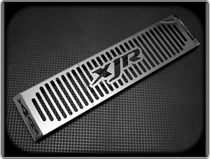 Polished-Radiator-Cooler-Grill-for-YAMAHA-XJR1300-1998-to-2011-XJR-1300