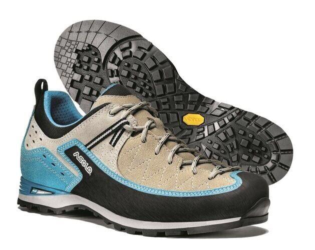 Nuevo En Caja Asolo Salyan Ml Ml Ml Arena Zapatos botas De Caminata Trekking Baja Azul de la mujer talla 6.5  los últimos modelos