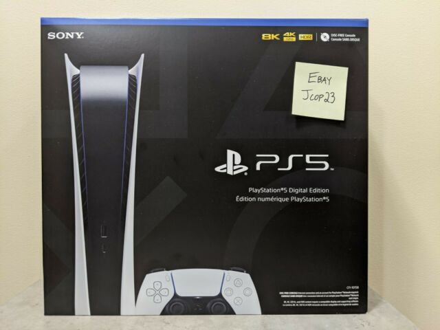 Sony PS5 PlayStation 5 Digital Version Console -⚡️ FREE FAST SHIPPING ⚡️