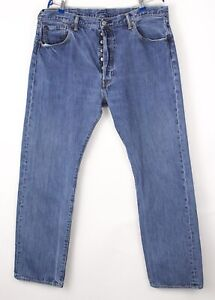 Levi's Strauss & Co Hommes 501 Jeans Jambe Droite Taille W40 L32 BBZ331
