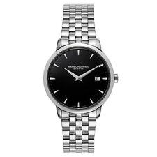 Raymond Weil Toccata Black Dial Stainless Steel Quartz Men's Watch 5488-ST-20001