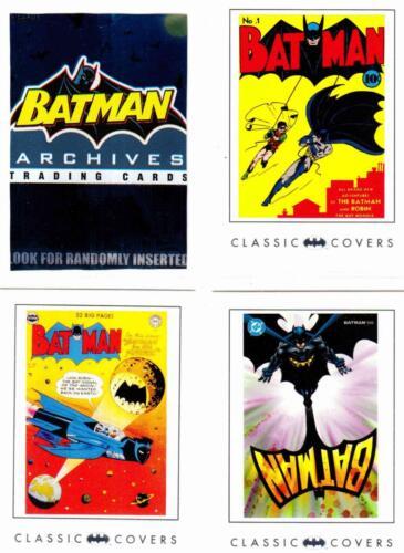2008 --Complete 63-Card Base Set Wrapper^^ BATMAN ARCHIVES