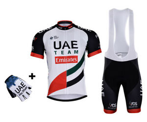 NEW 2018 UAE TEAM EMIRATES JERSEY BIB HOBBY SET KIT CYCLING TOUR DE ... 33e9bd5cc