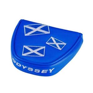 Drapeau-De-Ecosse-Odyssey-Bleu-Maillet-Putter-Housse-Capuchon-UK-Stock