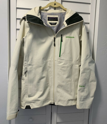 Patagonia Primo White Jacket Ladies Small