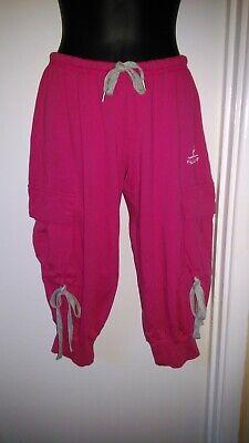 ???? Italiano Designer Vendita ???? Donna Bermuda Pantaloni Stile Cargo-ciliegia Piccolo-