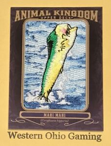 2012-Upper-Deck-Goodwin-Champions-Mahi-Mahi-AK-131-Animal-Kingdom-Card