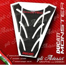 Paraserbatoio Resinato Sticker 3D DUCATI MONSTER 696 796 1100 mod. P13