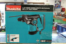 New Makita Hr2811fx 1 18 Inch Rotary Hammer Drill With Angle Grinder Sealed