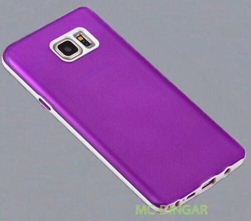Ultra Thin Rubber Matte Soft Hard PC Bumper Case Cover For Samsung Galaxy Note 5