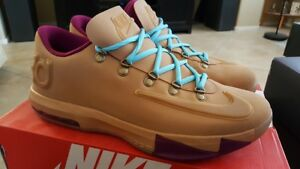 outlet store 3aea6 4078a Image is loading NIKE-KD-VI-6-2013-EXT-GUM-QS-