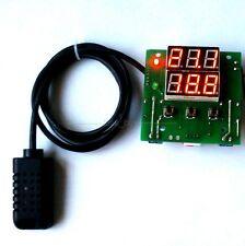 12V Digital led Temperature Hydrometer Feuchte-messer Humidity Regler Steuerung