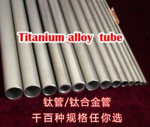 2pcs 50CM Length Titanium Tube 28mm Seamless Round Metal Tubing ID OD X 26mm