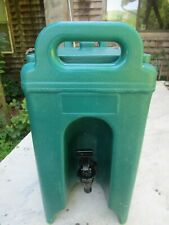 Cambro 250l 25 Gallon Commercial Insulated Portable Beverage Container Dk Green