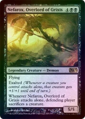 Nefarox Overlord of Grixis Foil New MTG 2013 M13 Magic 2B3