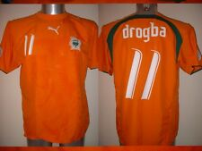 Costa de Marfil Drogba Puma XL BNWT Camisa Jersey Fútbol África Chelsea Nuevo