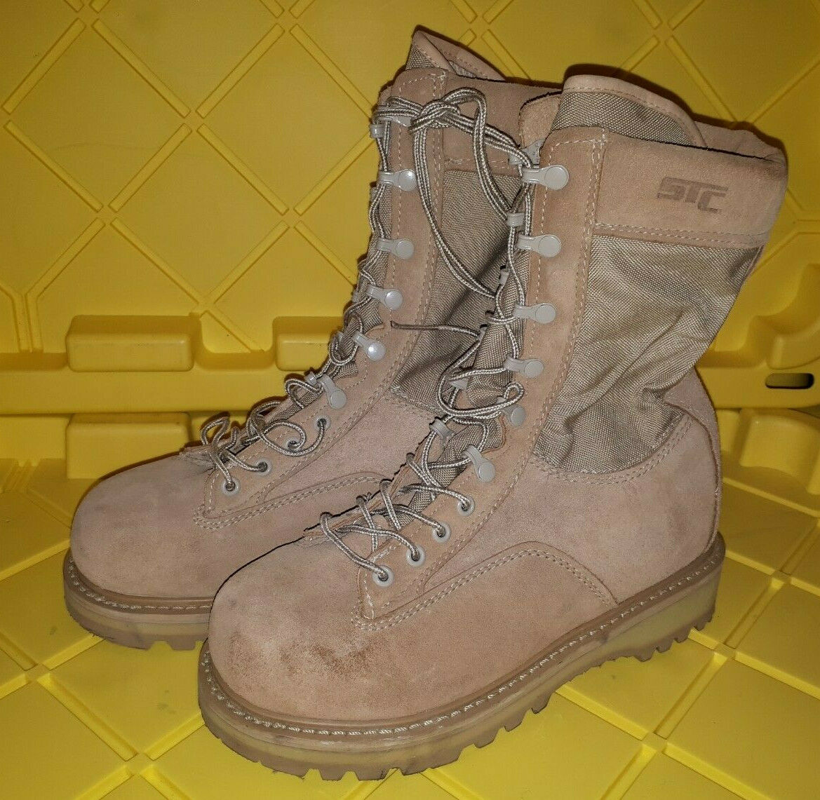 Canadian Forces Army Hot Weather CSA Steel Toe Combat Boots 255 96