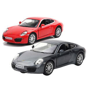 Porsche-911-Carrera-S-Coche-Deportivo-Coche-Modelo-Escala-1-36-Diecast-Vehiculo-de-juguete-de-regalo