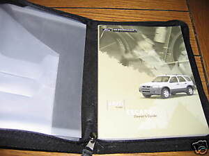 ford escape owners manual owners set ebay
