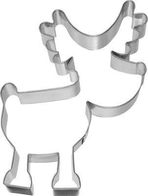 Elch 6,3 cm Ausstecher Ausstechform Keksausstecher  Edelstahl Rentier