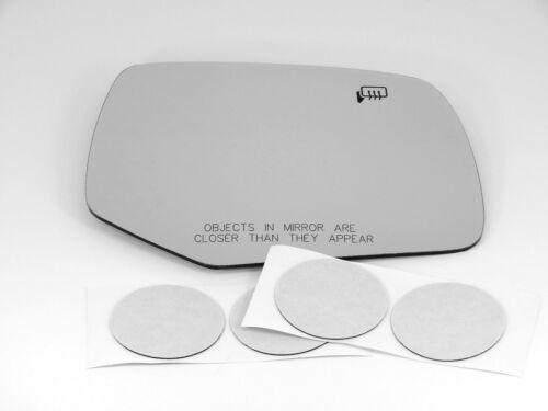Fits 08-10 Mazda Tribute Right Passenger Heated Convex Mirror Glass w// adhesive