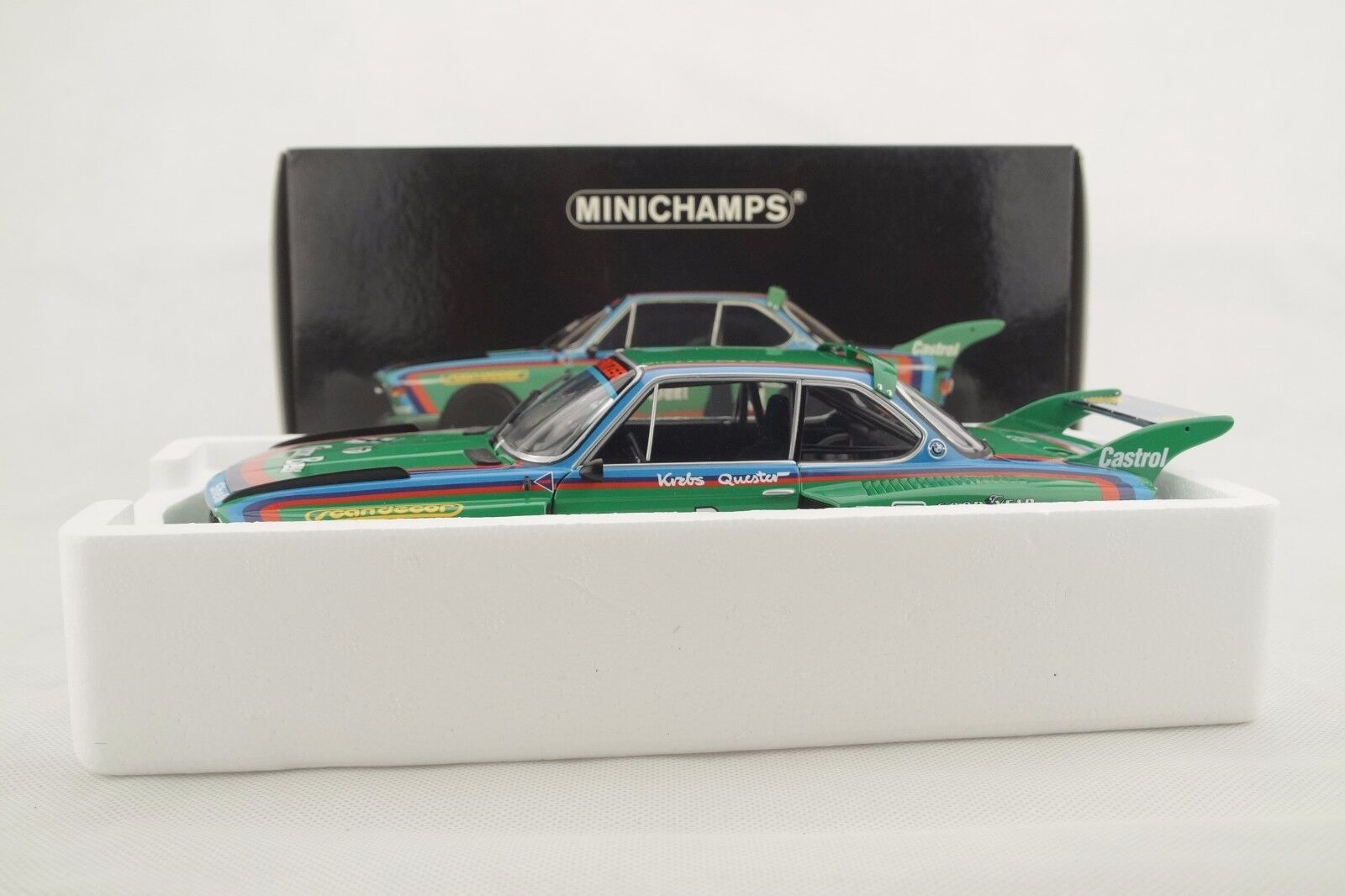 1 18 Minichamps-BMW 3.5 CSL groupe 5 1976  Gösser Bière  7 - RAR-NEUF dans neuf dans sa boîte