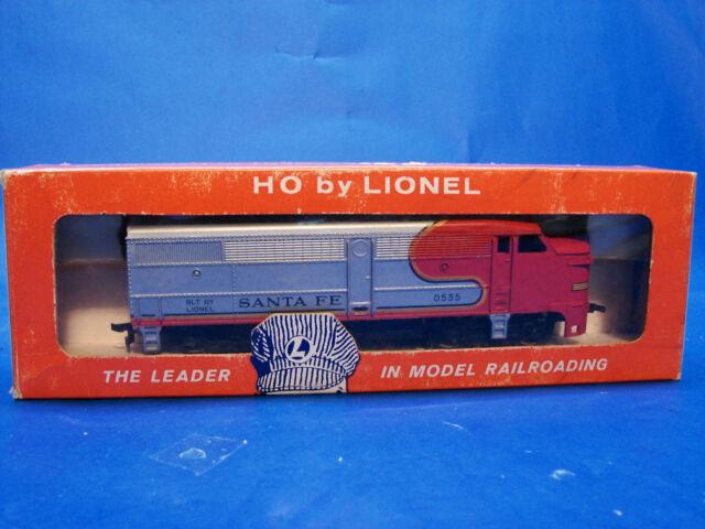 1962 Postwar Lionel 0535P Santa Fe Powered HO Diesel Locomotive, LN+/OB