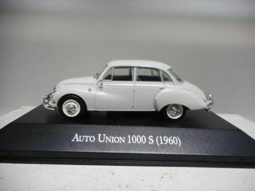 AUTO UNION 1000 S 1960 CLASICOS ARGENTINA SALVAT 1:43