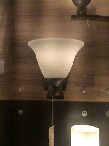 wholesale dealer a295a 9edf1 Details about Hinkley Lighting 4650OB-OPAL Bolla Wall Sconces Olde Bronze