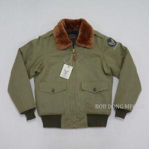 BOB-DONG-Repro-Type-B-10-Bomber-Jacket-Vintage-Mens-US-Air-Force-Flight-Unifrom