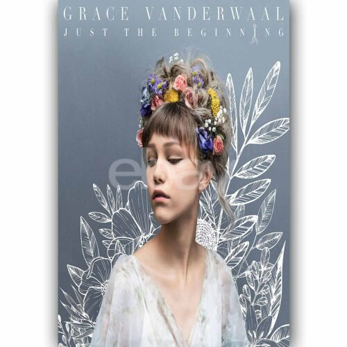 New Grace VanderWaal Custom Silk Poster Wall Decor
