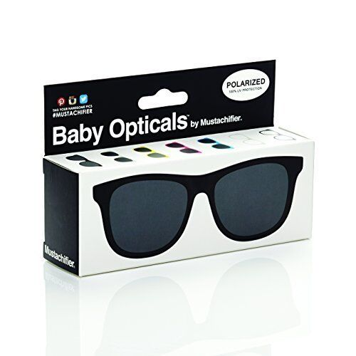 NEW FCTRY  Baby Opticals Black Polarized Sunglasses Ages 0 2 FREE SHIPPING